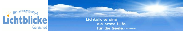 Betreuungsgruppe Lichtblicke Geretsried. Demenzkranke